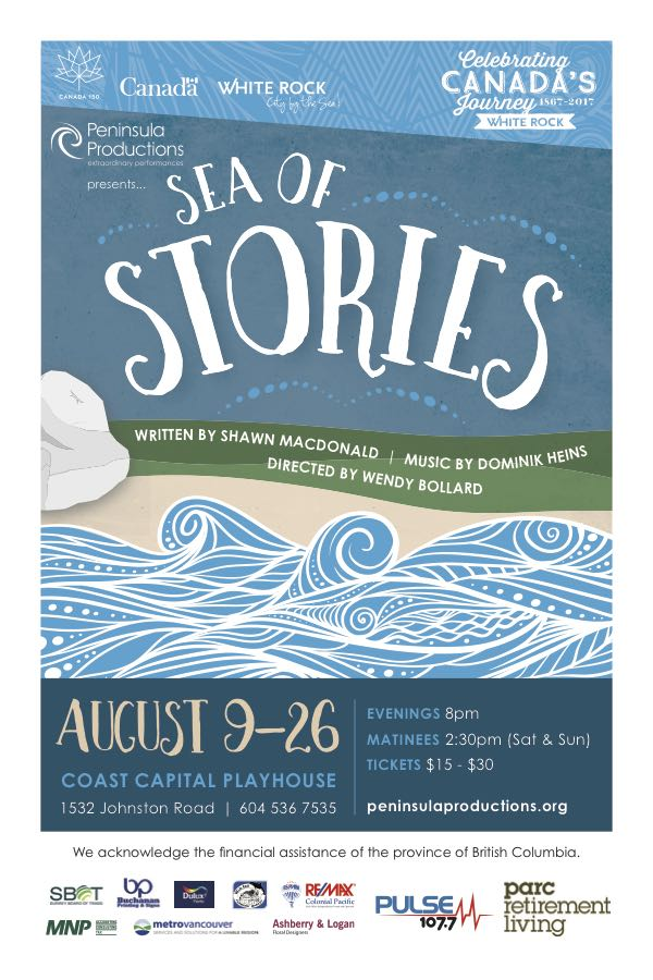 PULSE FM at White Rock's Sea of Stories Musical