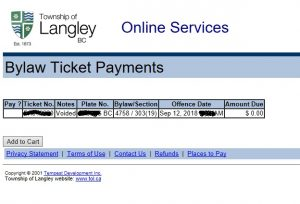 Should I pay this Langley Traffic Ticket? Hmm  – 107 7 Pulse FM Radio