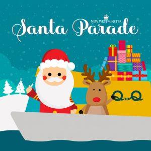2018 Santa Parade @ Columbia Street, | New Westminster | British Columbia | Canada