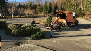 Christmas Tree Chipping & Bottle Drive @  Emannuel Covenant Church | Surrey | British Columbia | Canada