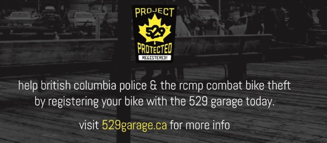 Scared of getting your bike stolen?  Register it!