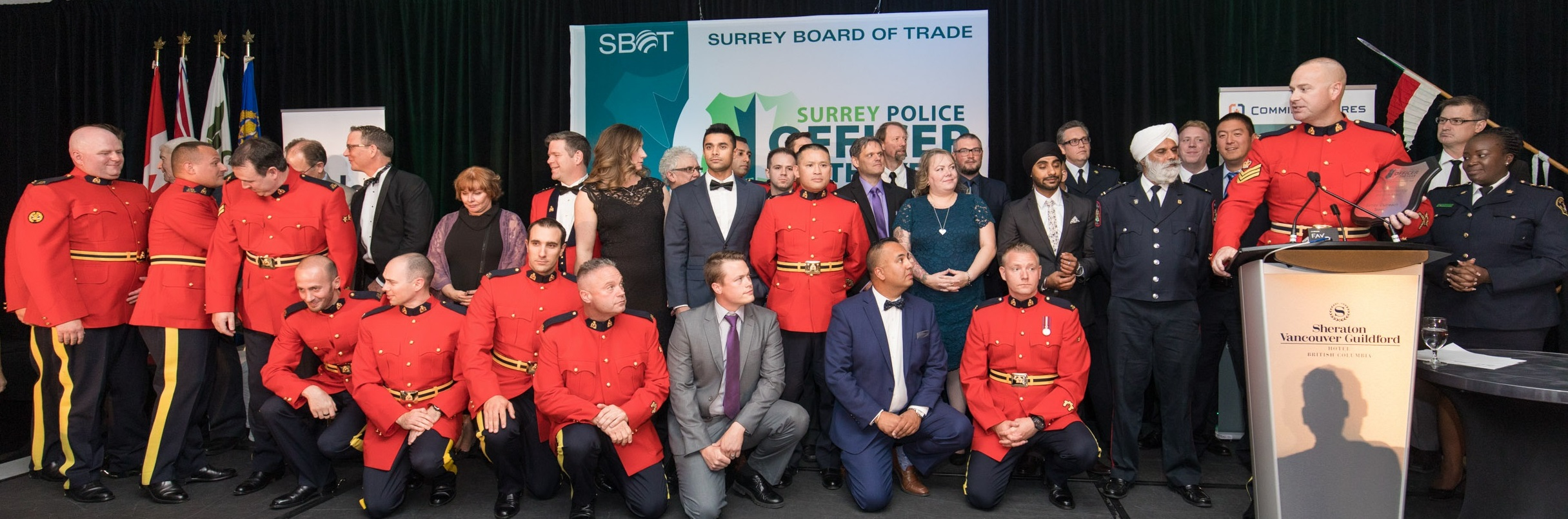 The winners have been announced for the 21st Annual Surrey Police Officer of the Year Awards.