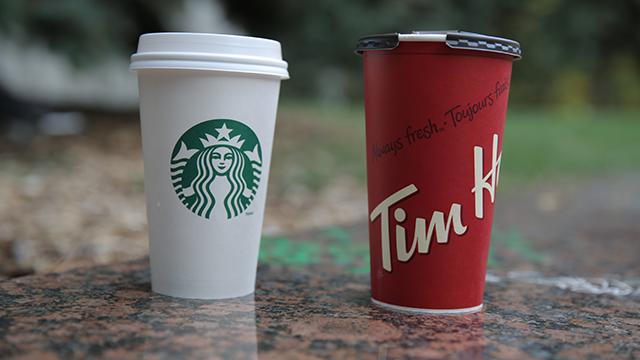 Team Starbucks or Team Timmies?