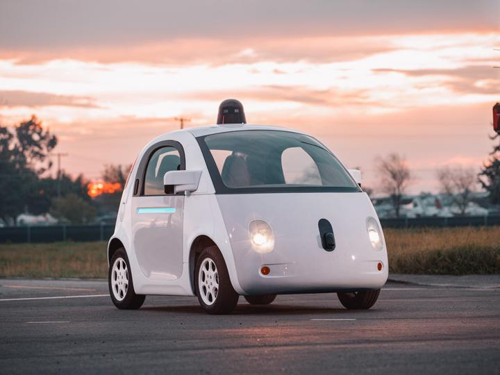 The future with driverless cars.
