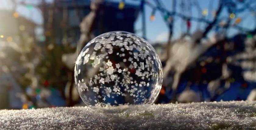Ice Bubbles Video