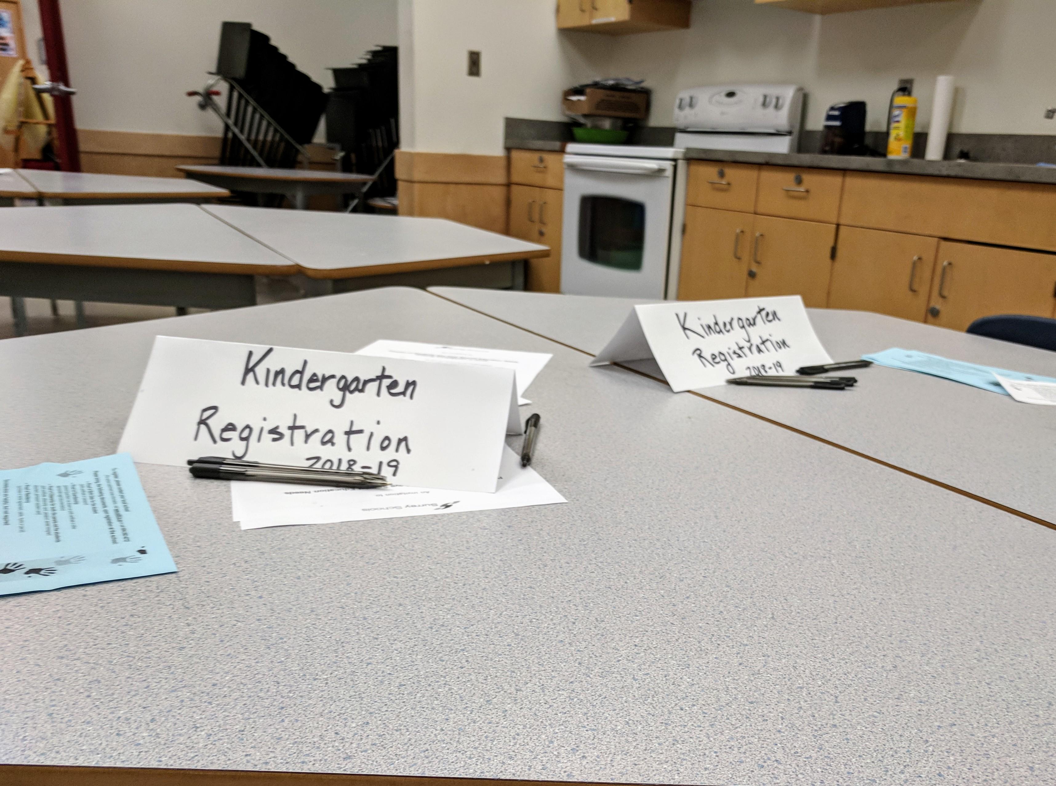 Kindergarten Registration in Surrey