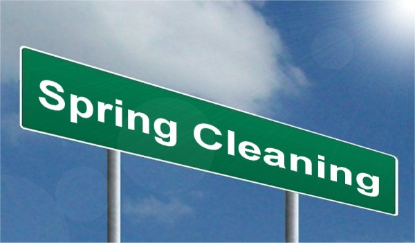 SPRING MEANS SPRING CLEANING