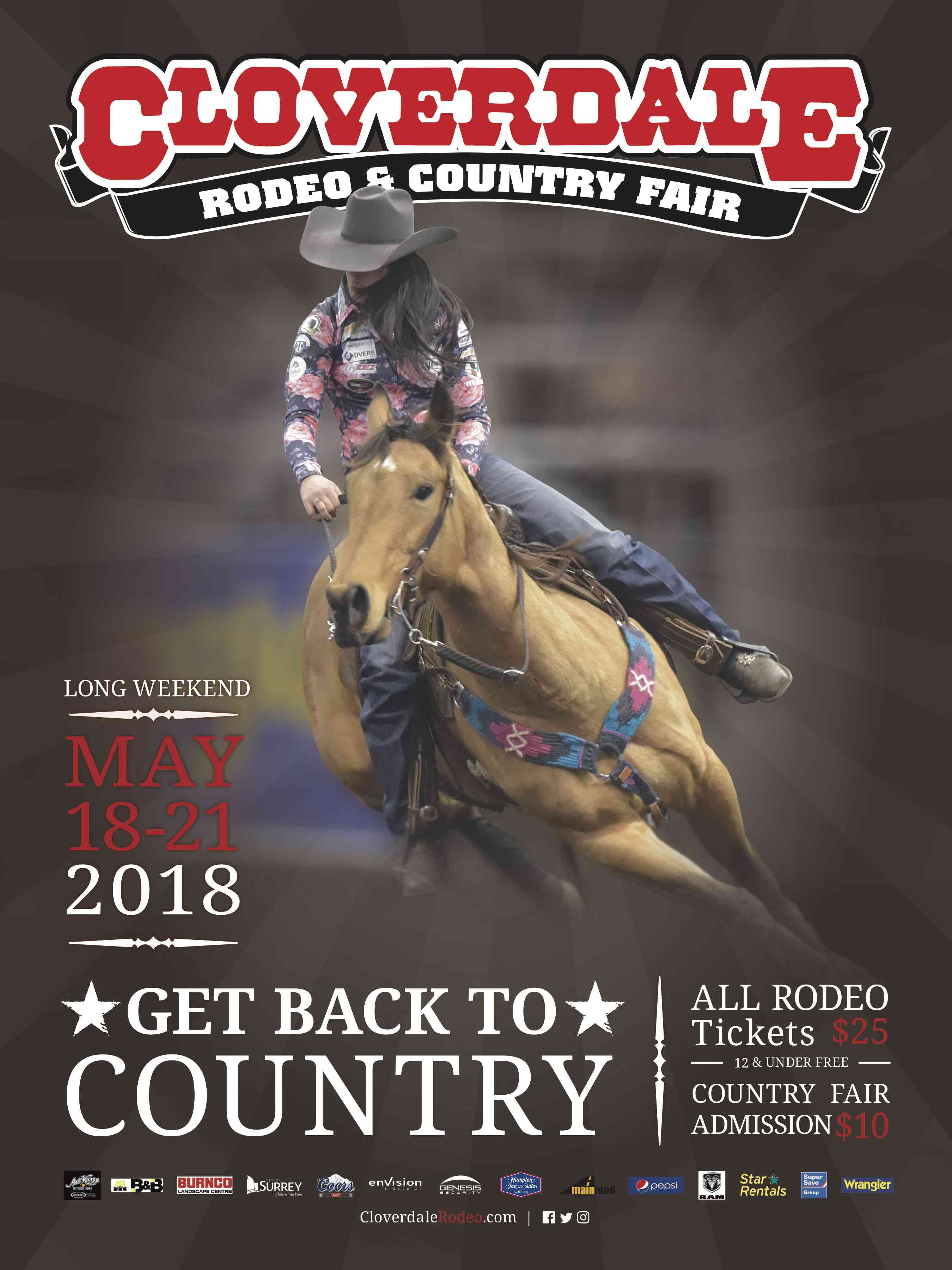 Cloverdale Rodeo Trivia