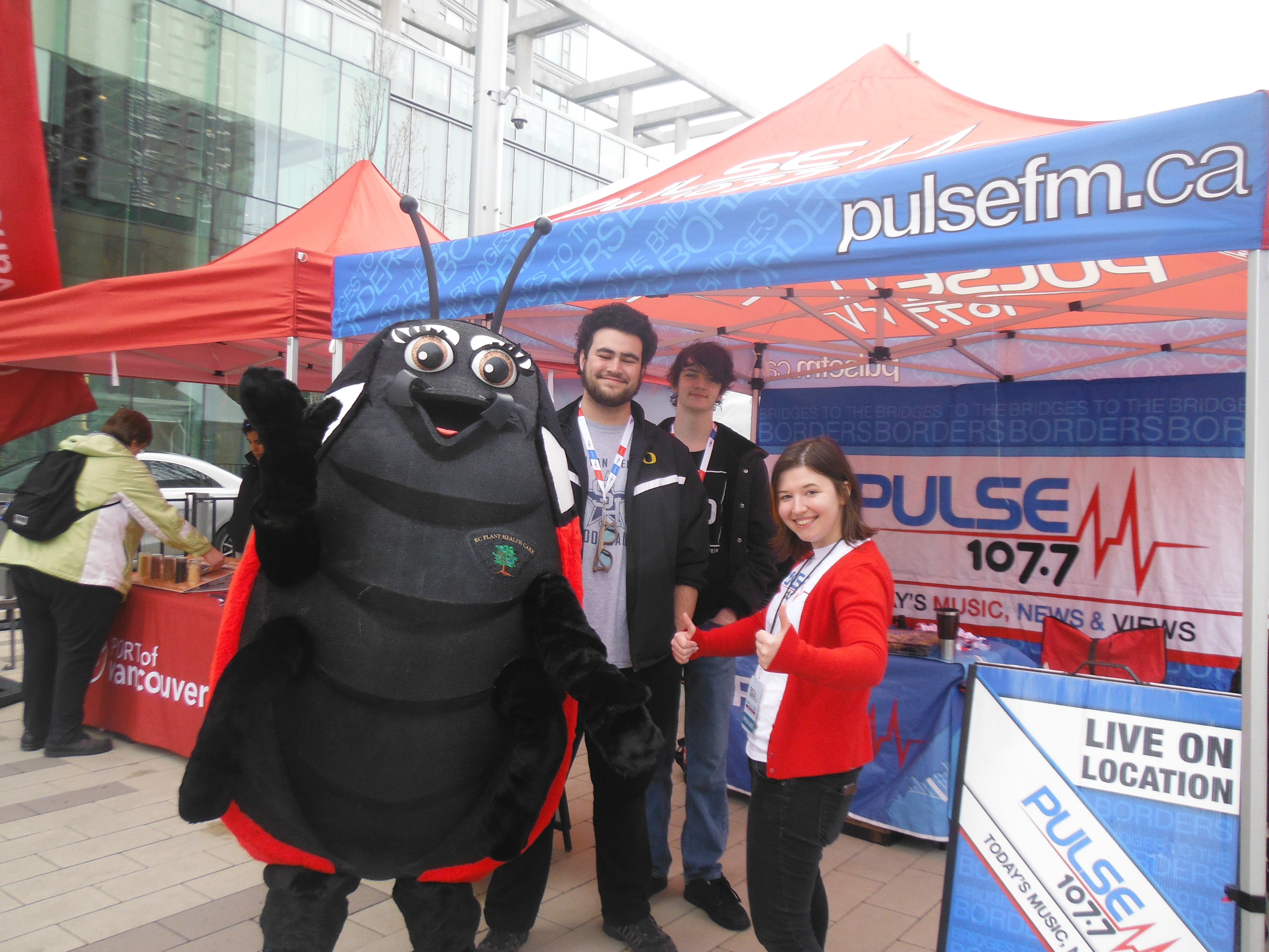 """PULSE FM at """"Party for the Planet"""""""