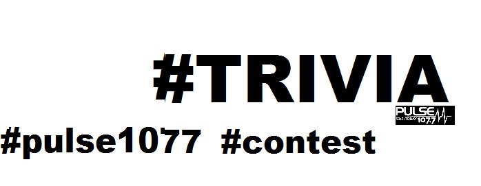 #Trivia contest!