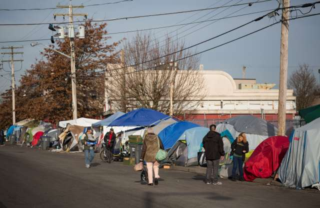 A tour of Tent City I'll never forget