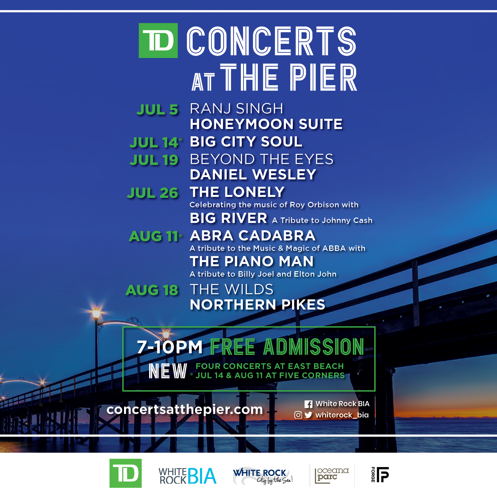 Concerts at the Pier