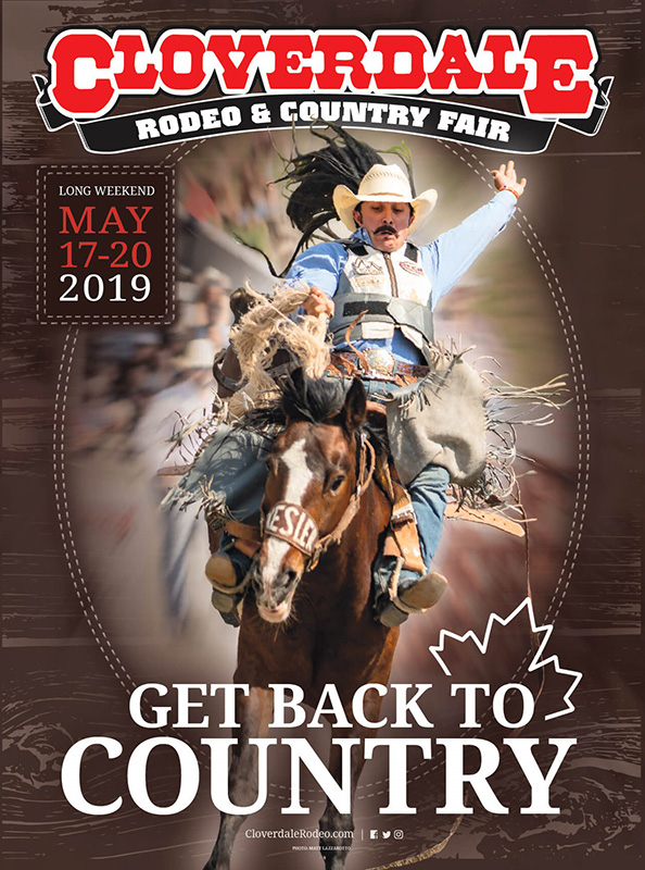 Canadian and International Rodeo Superstars to compete at the 2019 Cloverdale Rodeo & Country Fair