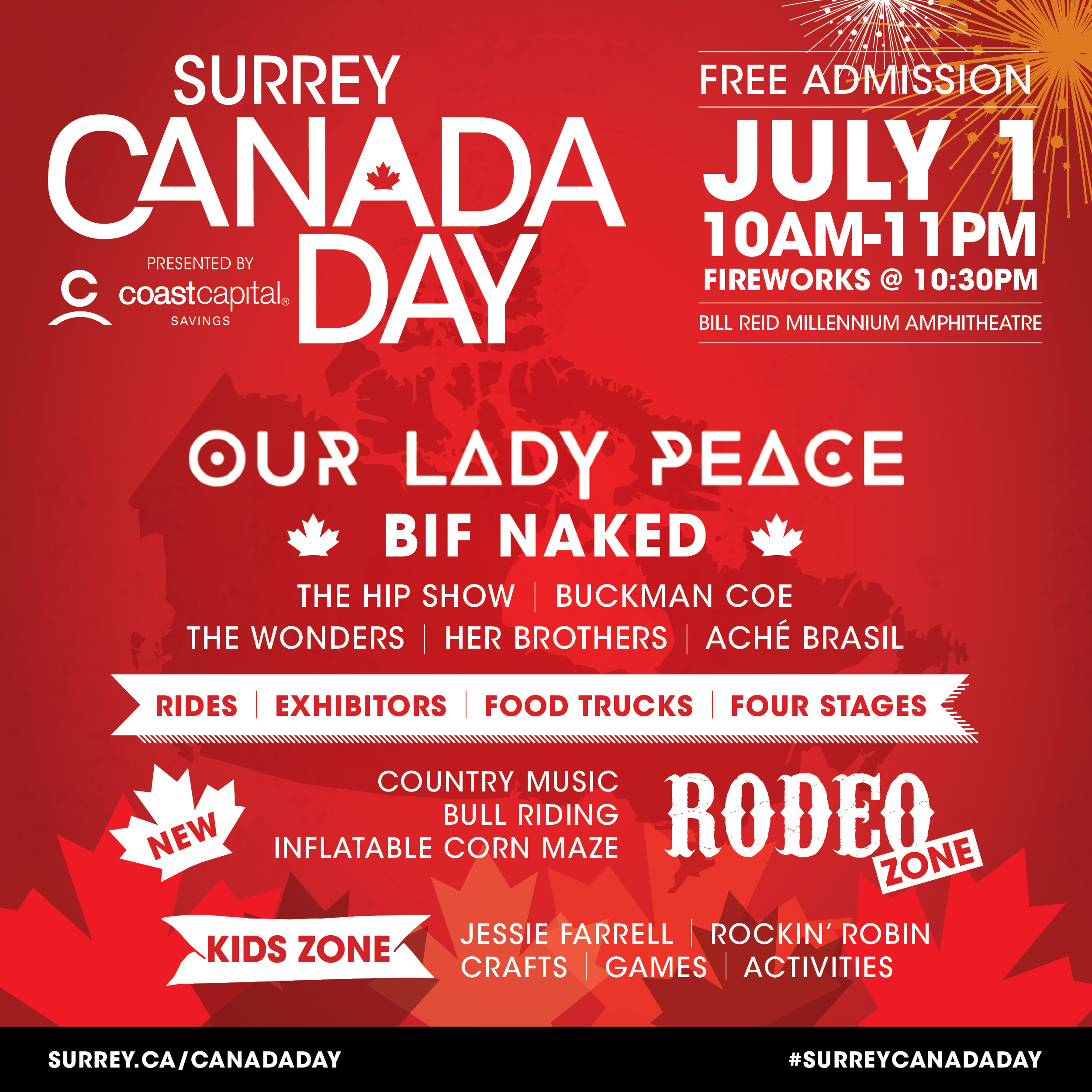 Our Lady Peace & Bif Naked Coming to Surrey