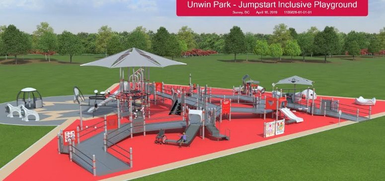 Surrey's New Accessible Playground