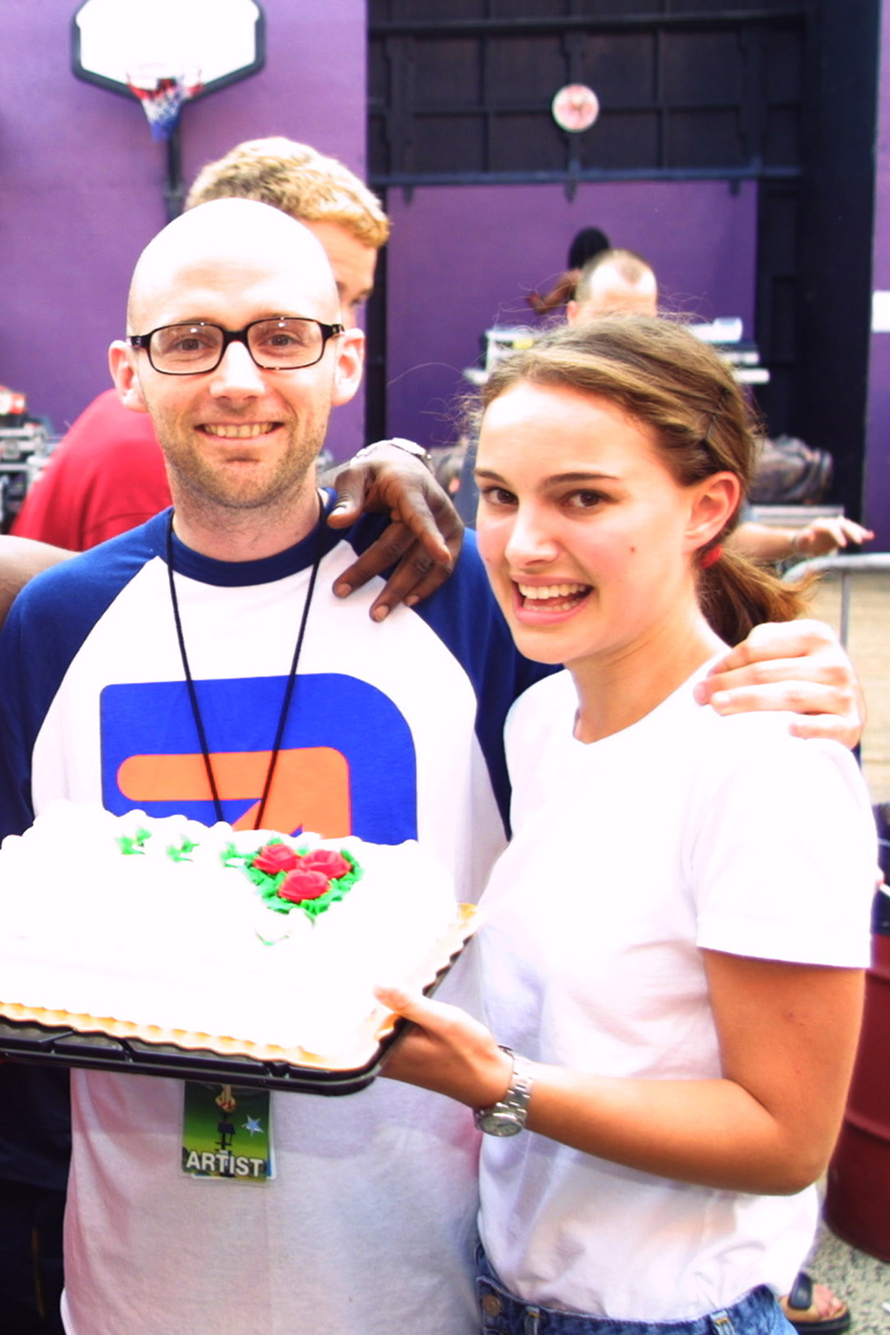 Did Natalie Portman and Moby Hook Up?