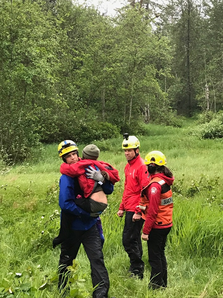 Children stranded on Burke Mountain safe and sound