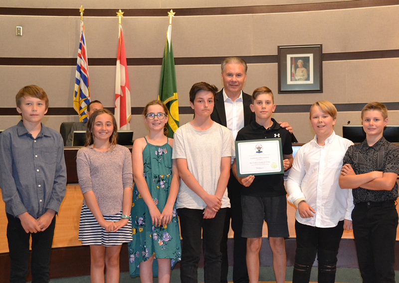 Delta elementary students win 'Cool It! Climate Change Workshop'
