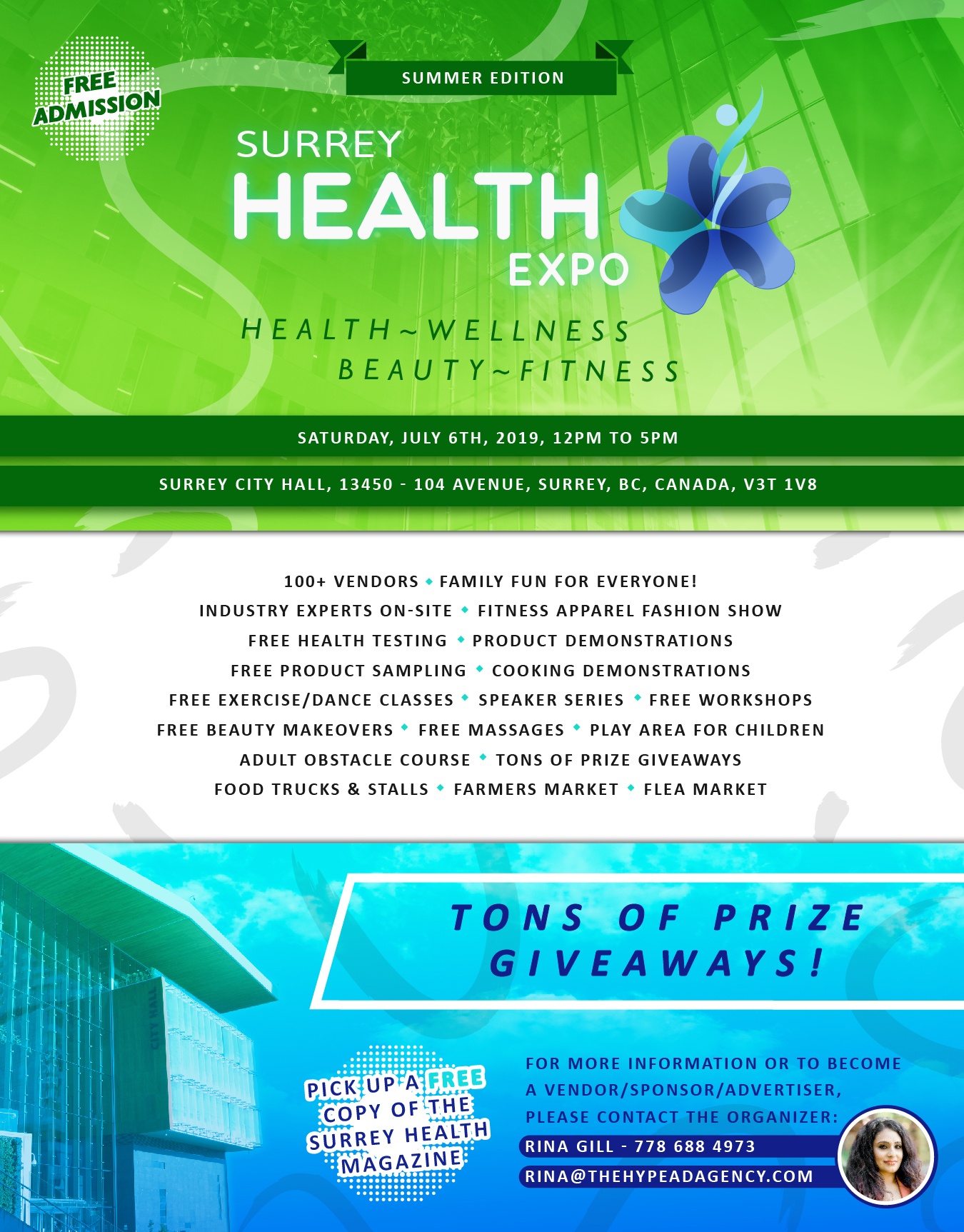 Surrey Health Expo taking place next month