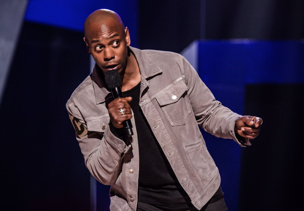 If you want to see Dave Chappelle, leave your phone at home