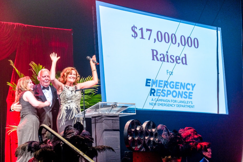 $17 million raised for Langley's new Emergency Department and MRI Suite
