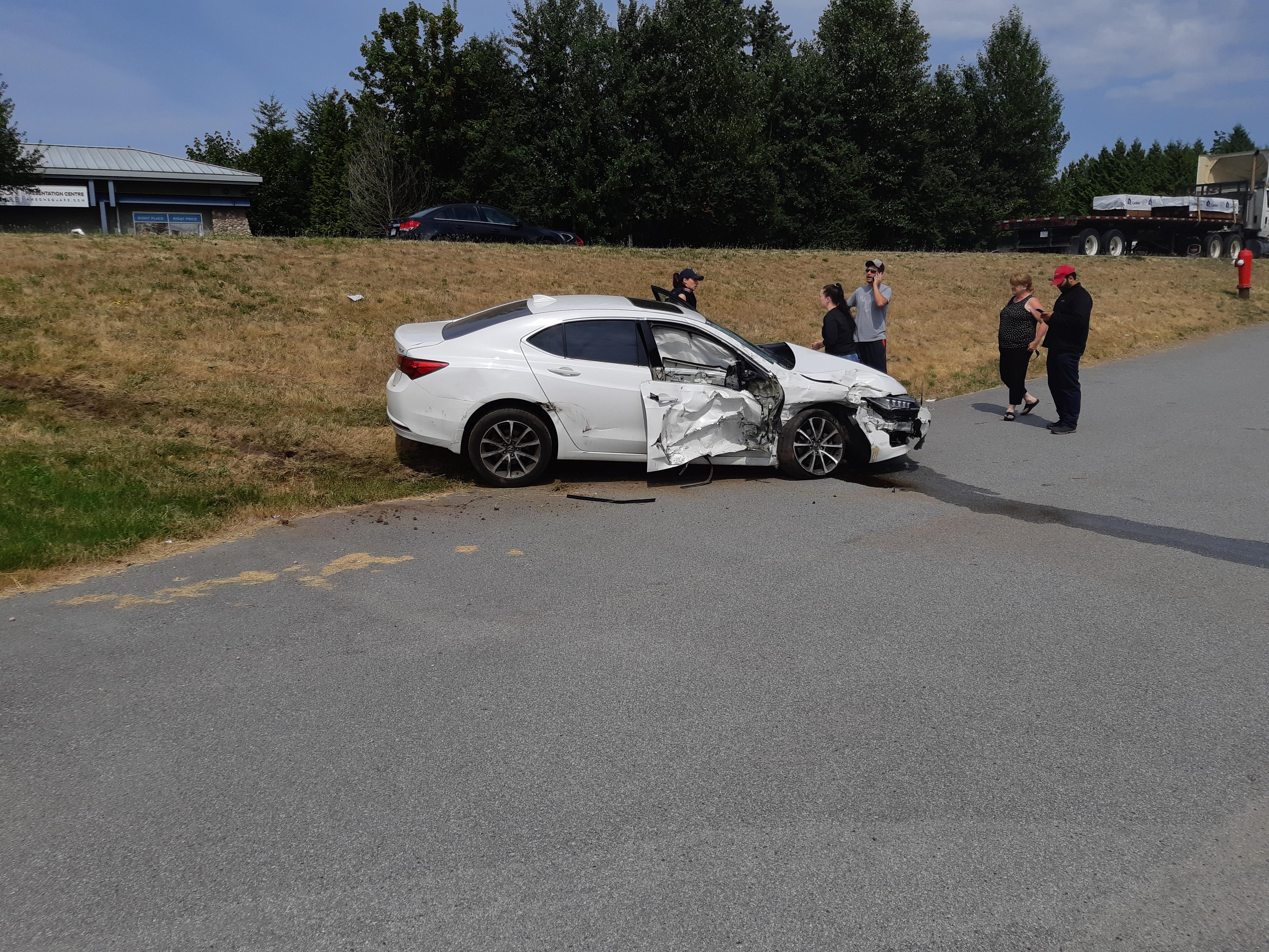 Collision in Surrey
