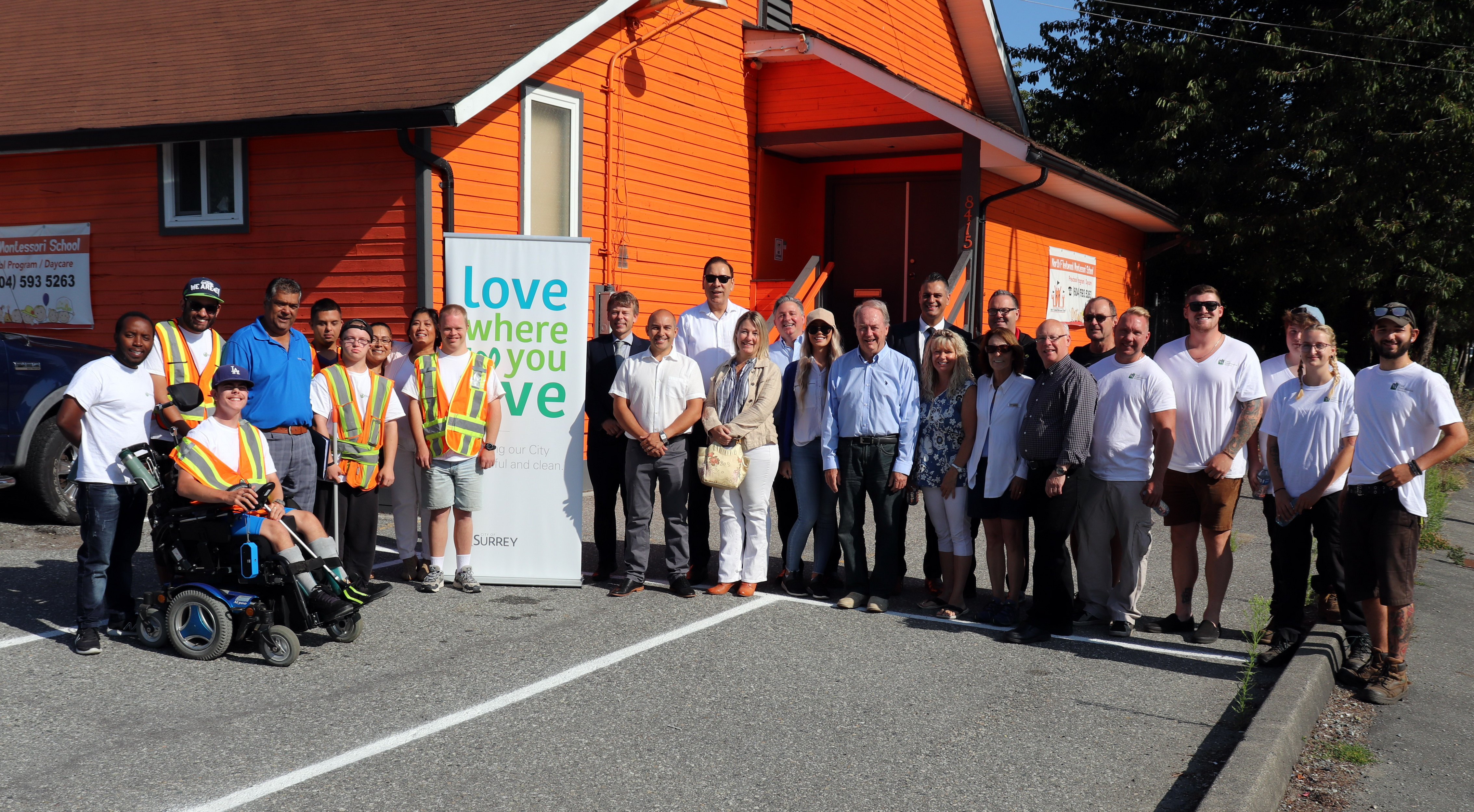 Fleetwood Business Improvement Association launches resourcing and programs during Surrey's Love Where You Live initiative