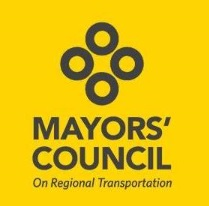 Mayors Council on Regional Transportation Public Meeting This Week