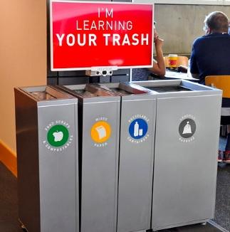 Trash-sorting Robot at SFU Surrey
