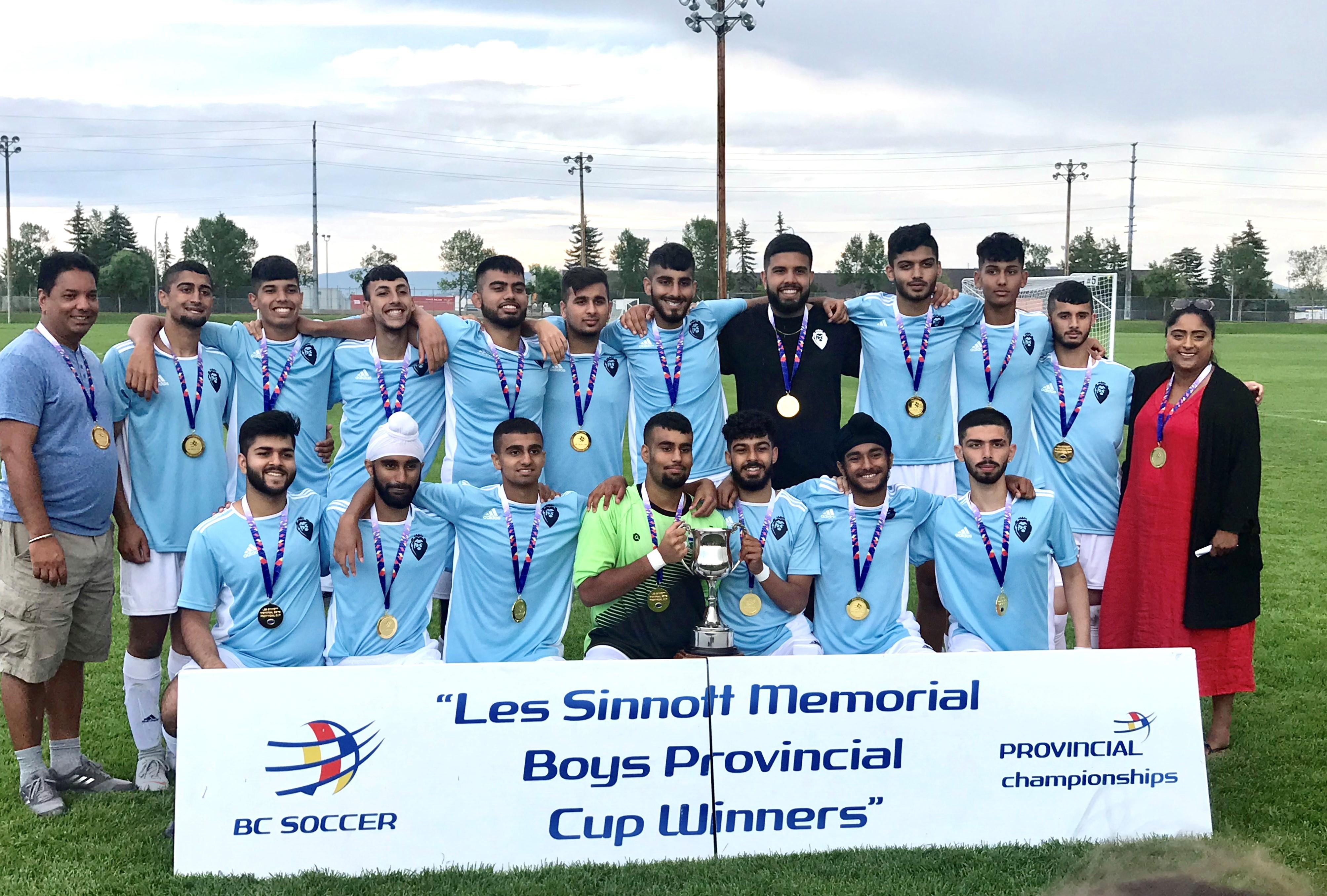 Surrey Soccer Team Wins Gold!