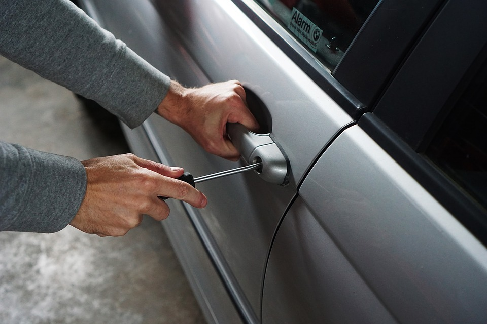Top 3 Places for Car Break-Ins