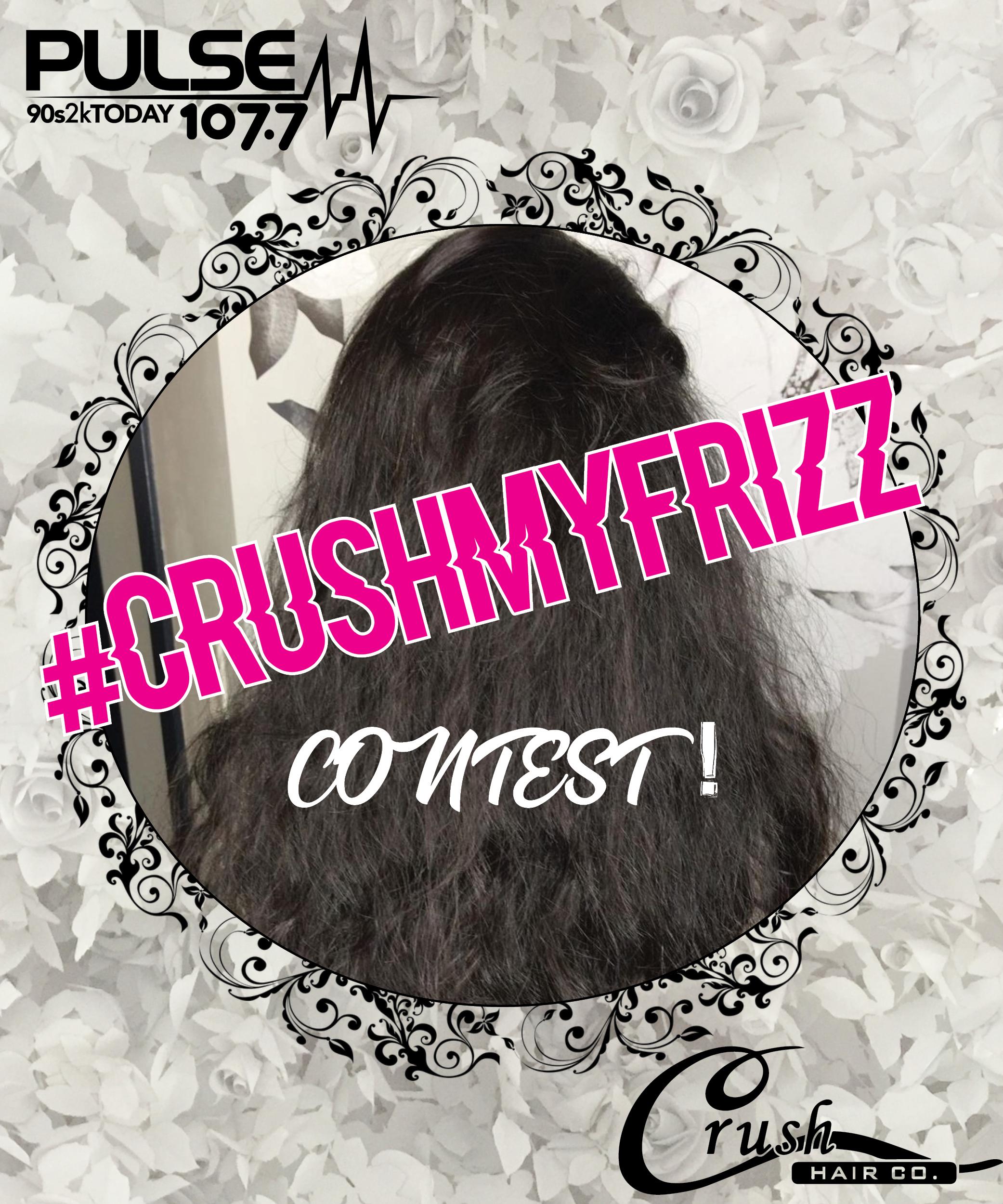 #CrushMyFrizz