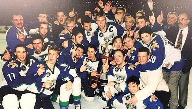 Surrey Eagles to be inducted into BC Hockey Hall of Fame