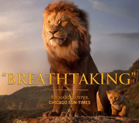 Lion King Roars into Theatres Today!