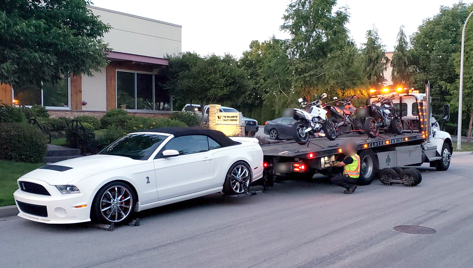 Nine vehicles seized during traffic enforcement in South Surrey