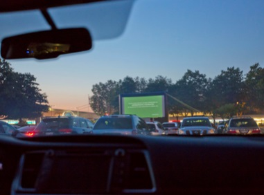Movie Drive-In at White Rock