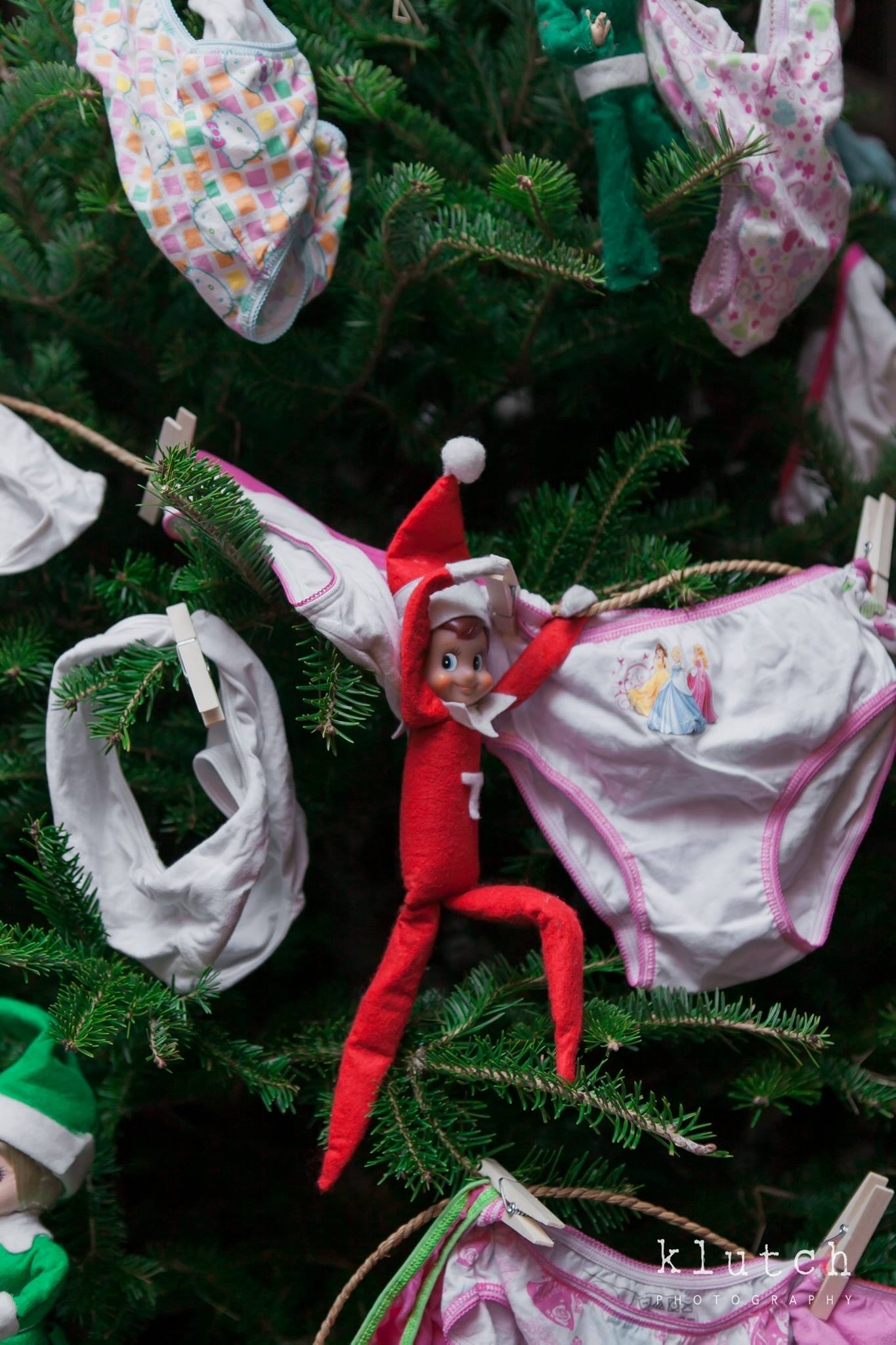 The eff'in ELF on the shelf