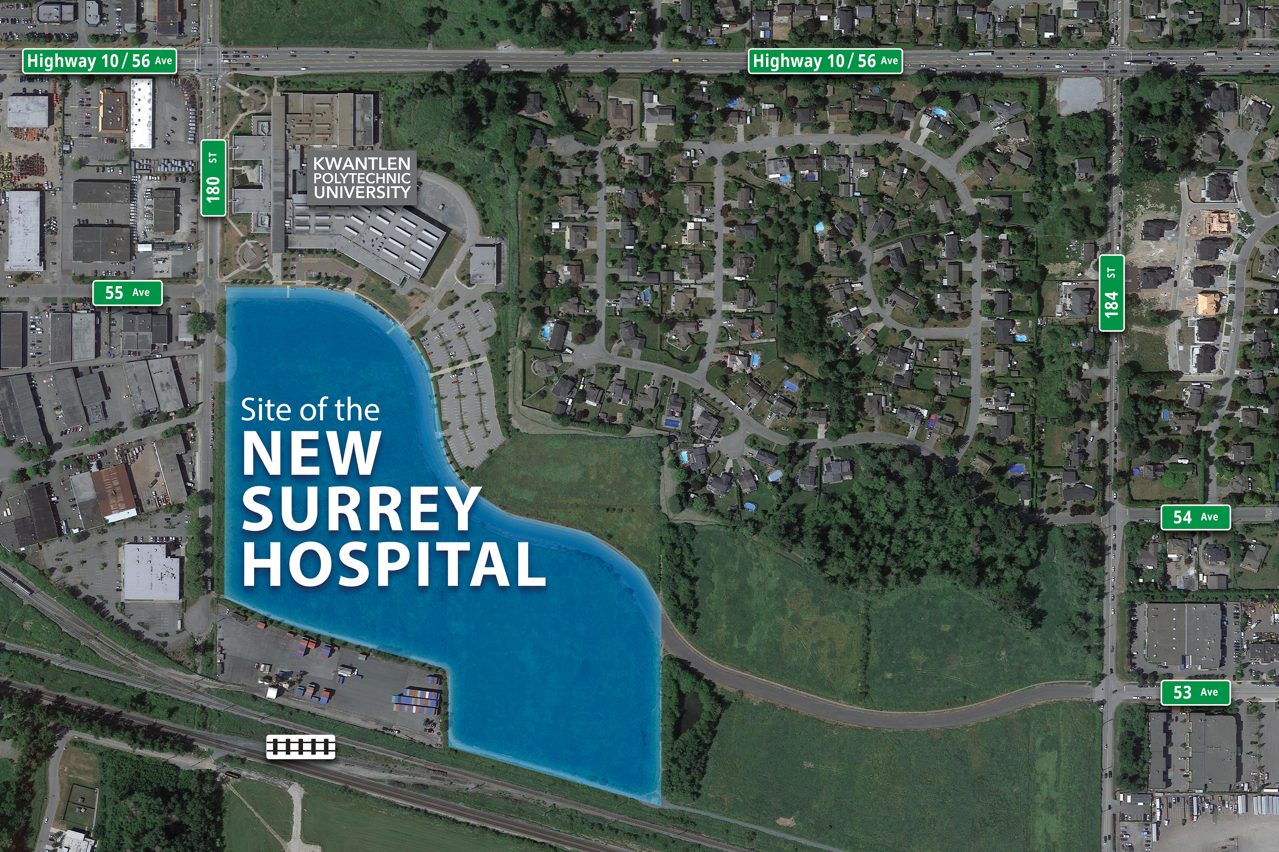 Surrey is getting a new hospital