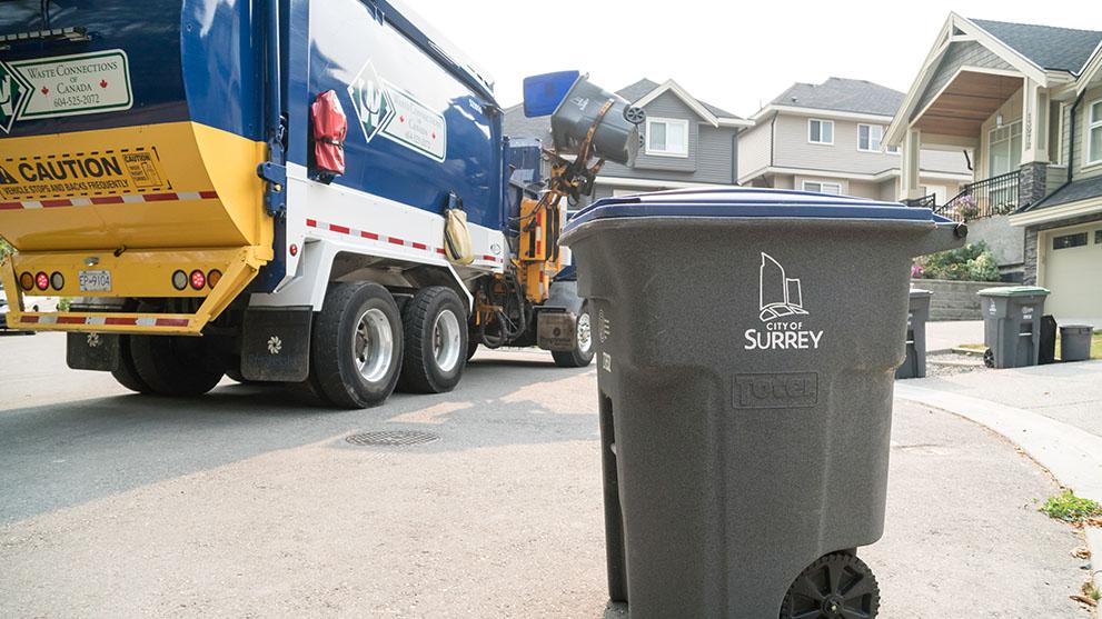 Surrey Garbage Pickup Cancelled