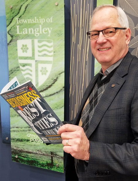 Township of Langley in Top Three Places For Work in BC