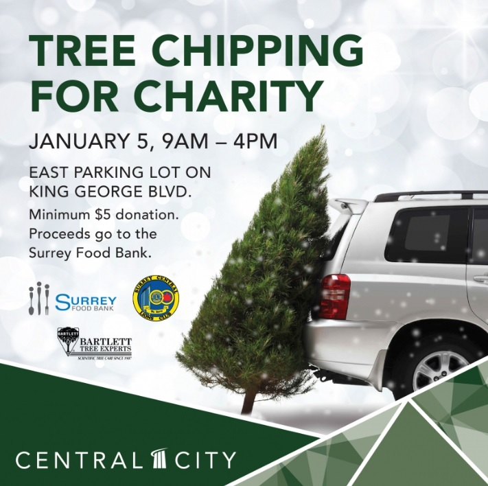 Tree Chipping for Charity
