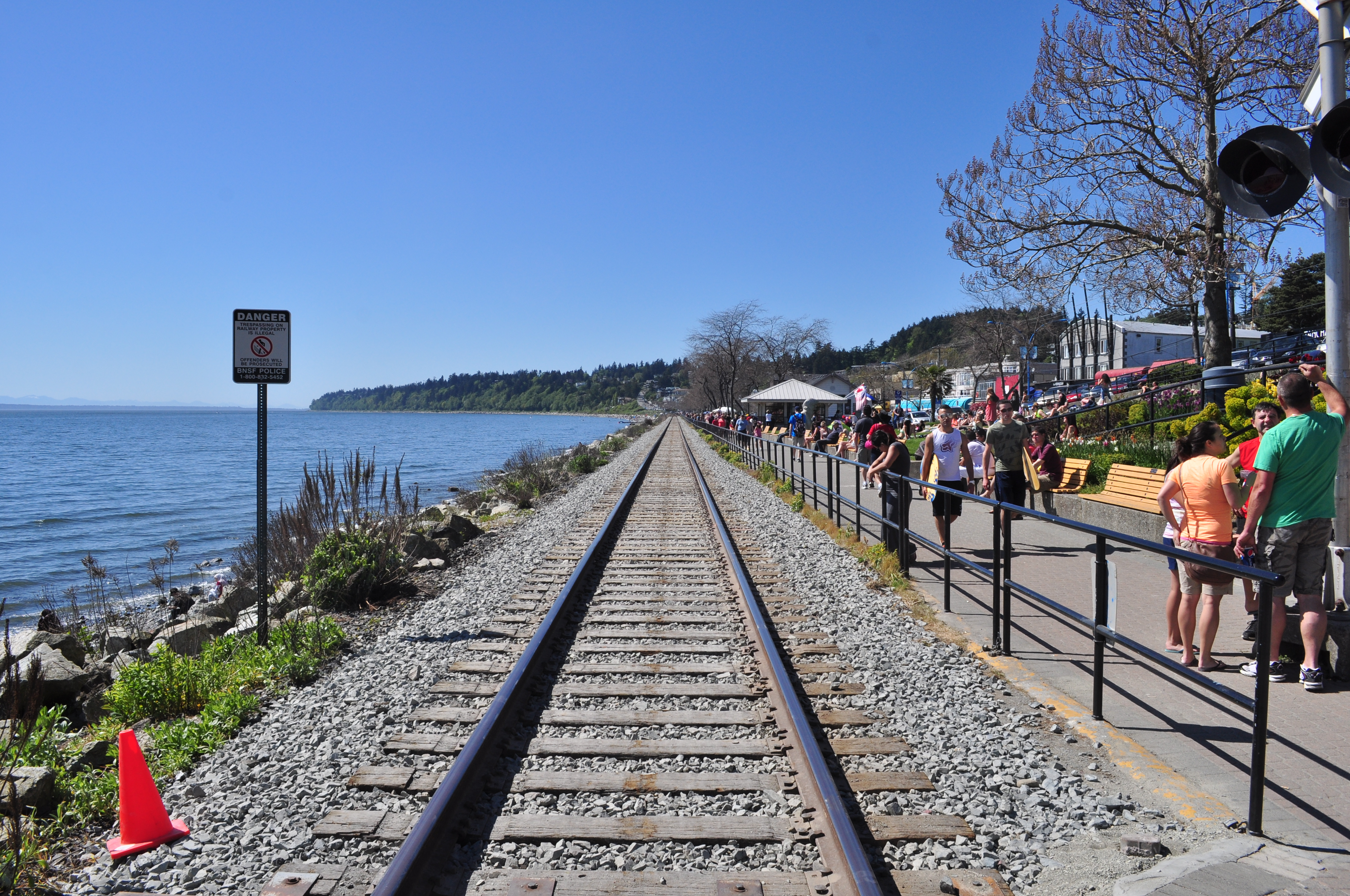 White Rock train whistles to be silenced end of the month