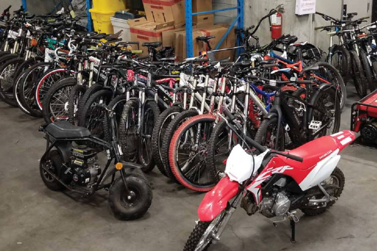 Surrey RCMP recover $80,000 in bikes