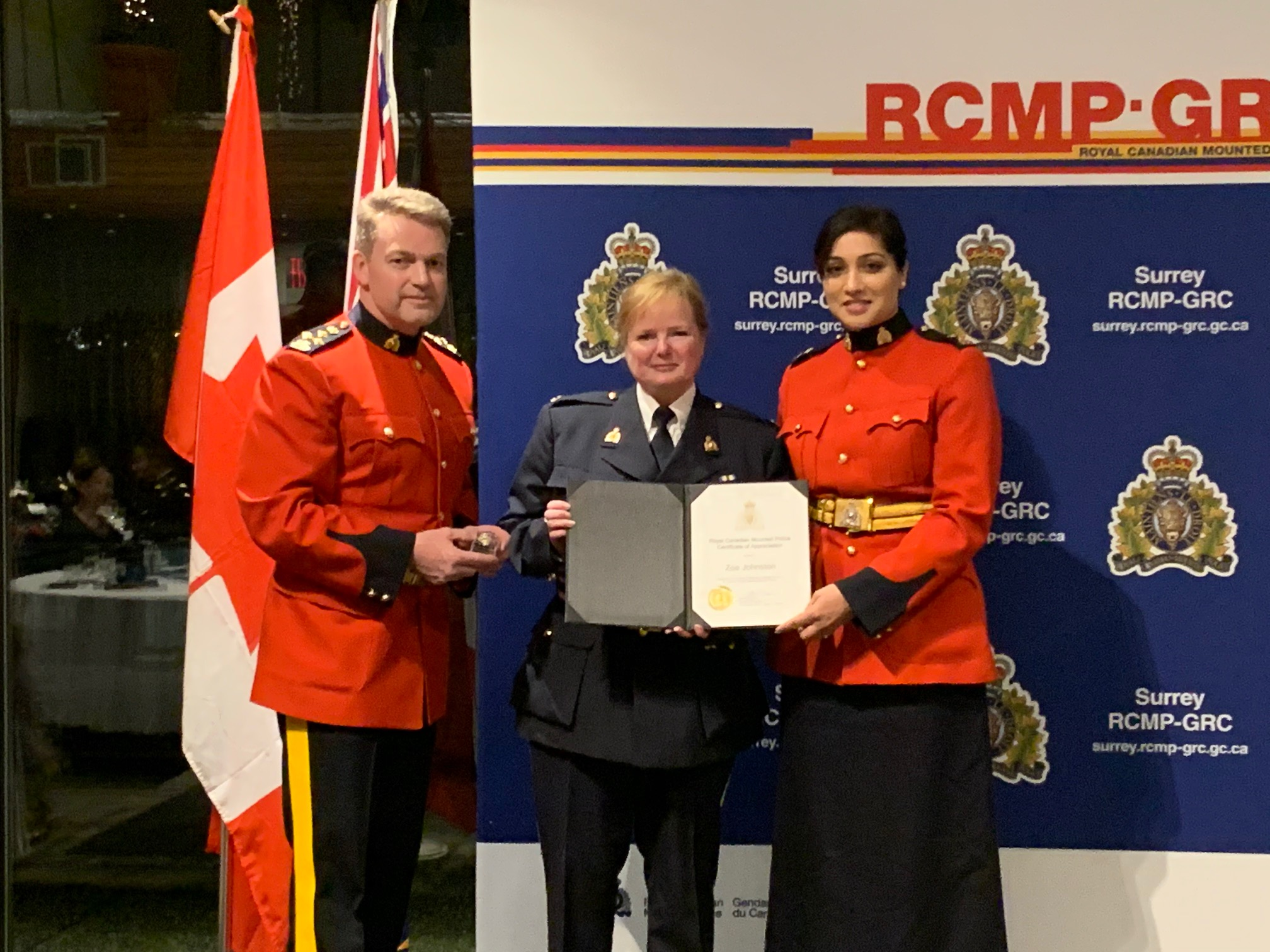 RCMP honours its auxiliaries