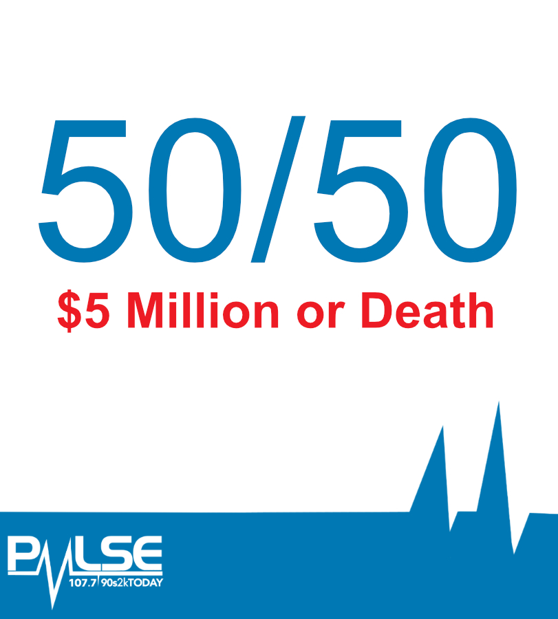 50/50 Shot At $5 Million Or Death. Would You Take It?