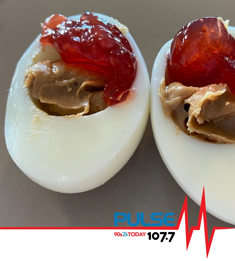 Peanut Butter & Jam Deviled Eggs?