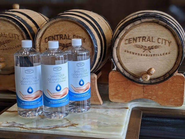 Surrey Brewery Making Hand Sanitizer to Help in Covid-19 Fight