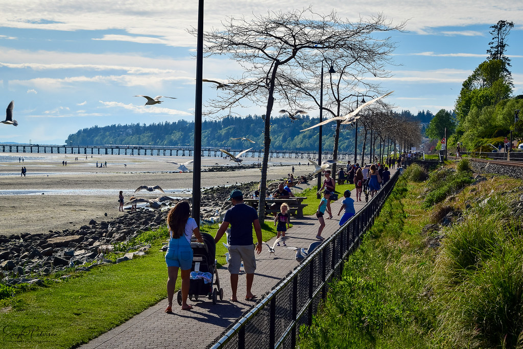 White Rock Promenade Closed As Of Friday
