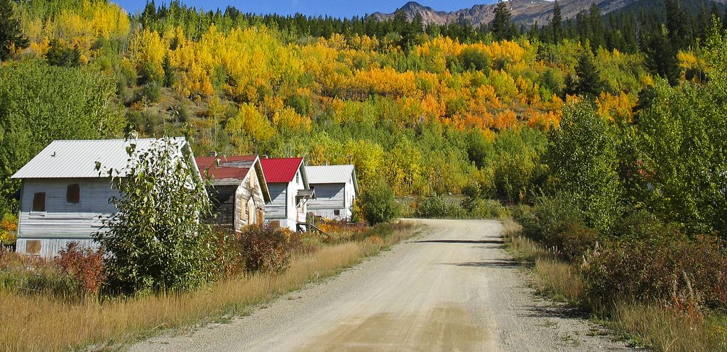 Want to social distance and get out out the house – GHOST TOWNS!