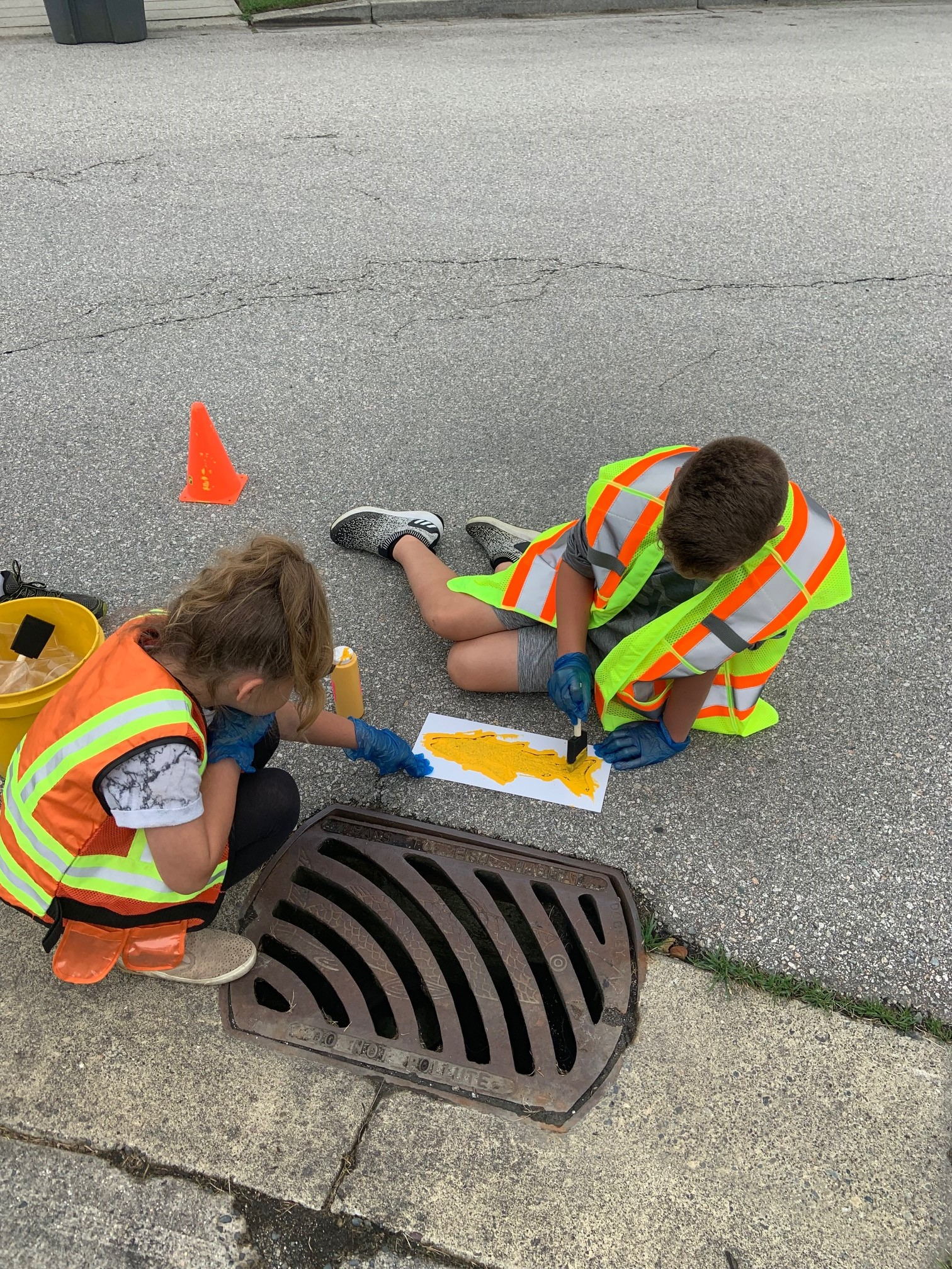 Channel your inner Picasso in the City of Surrey's 'Storm Drain Marking Challenge'!